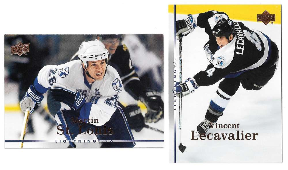 2007-08 Upper Deck (Base) Hockey Team Set - Tampa Bay Lightning