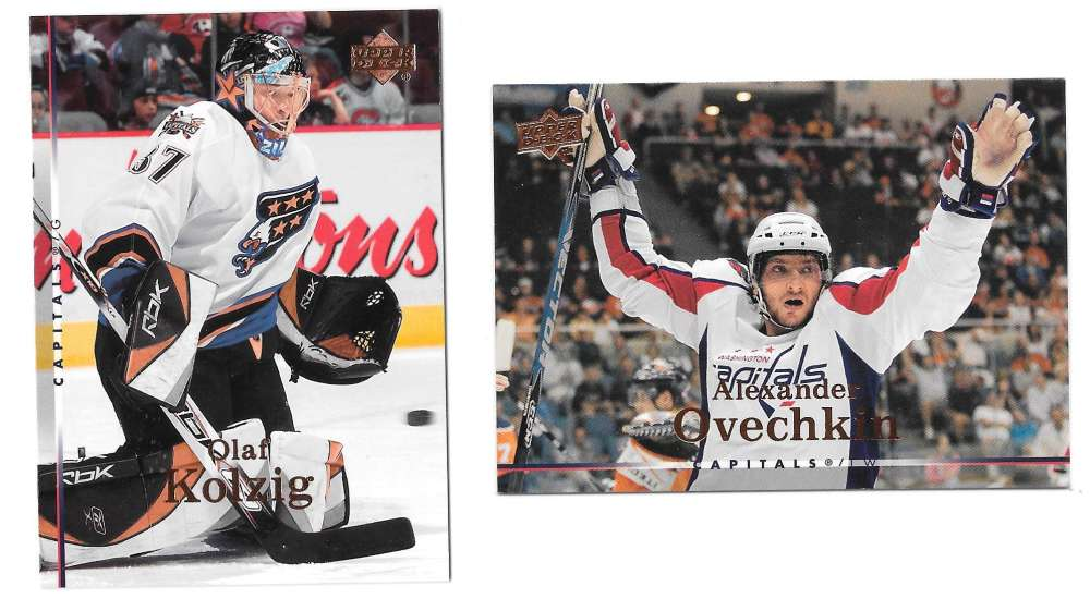 2007-08 Upper Deck (Base) Hockey Team Set - Washington Capitals
