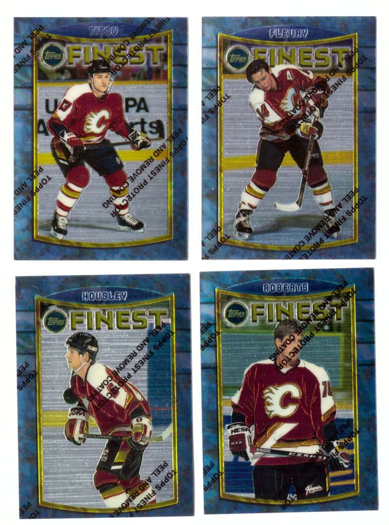 1994-95 Finest Hockey - Calgary Flames