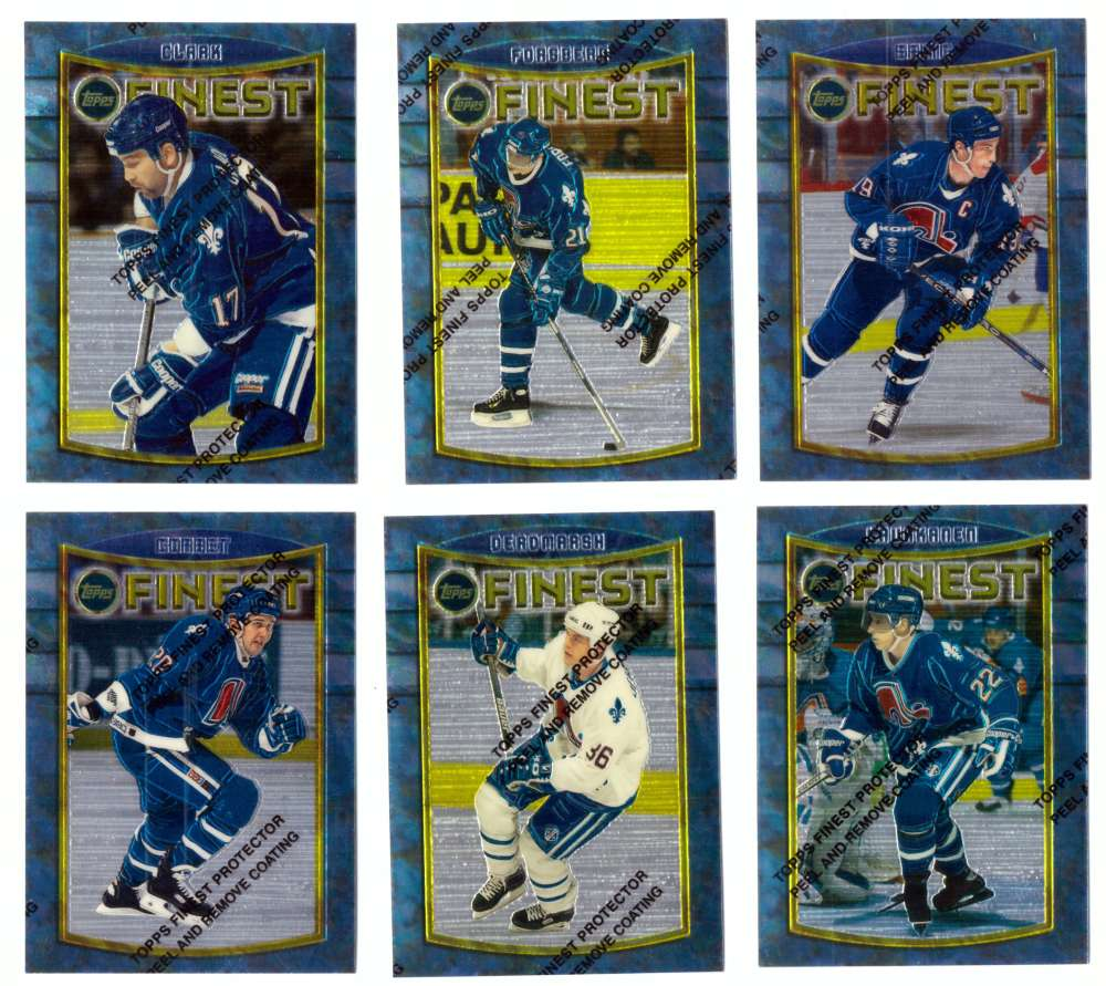 1994-95 Finest Hockey - Quebec Nordiques