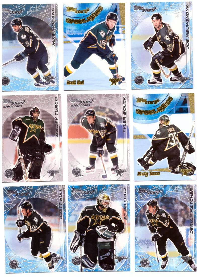 2000-01 Topps Stars Hockey - Dallas Stars