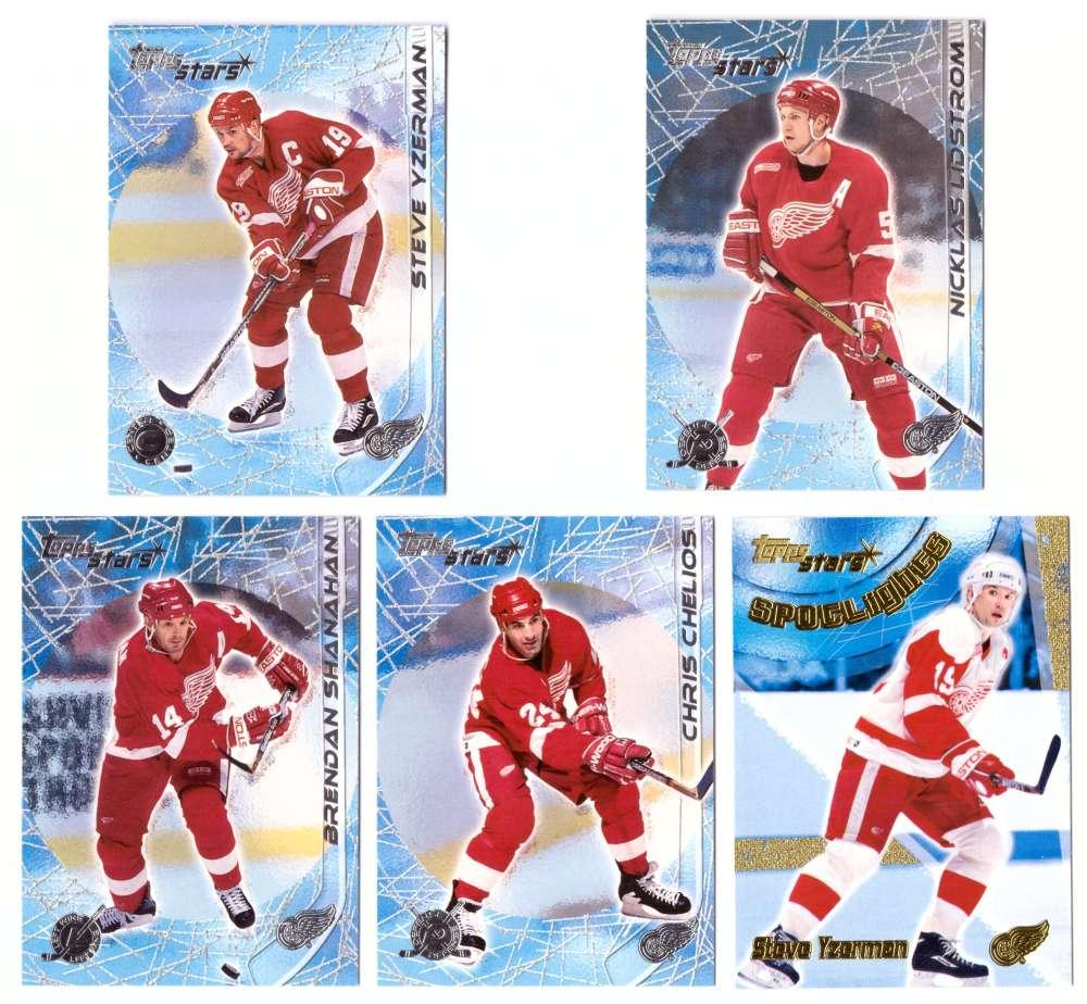 2000-01 Topps Stars Hockey - Detroit Red Wings