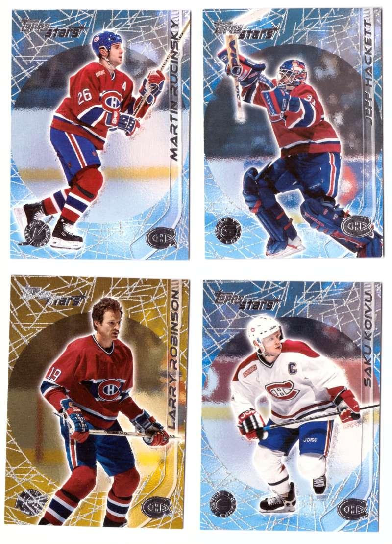 2000-01 Topps Stars Hockey - Montreal Canadiens