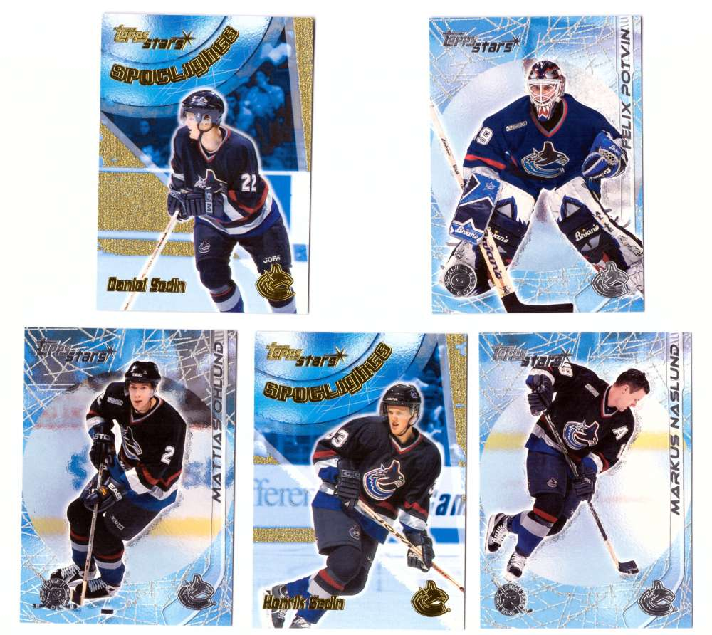 2000-01 Topps Stars Hockey - Vancouver Canucks