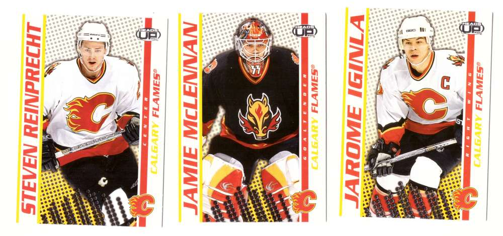 2003-04 Pacific Heads Up Hockey - Calgary Flames