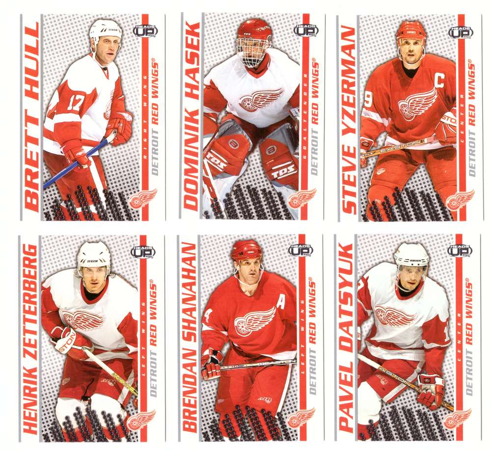 2003-04 Pacific Heads Up Hockey - Detroit Red Wings