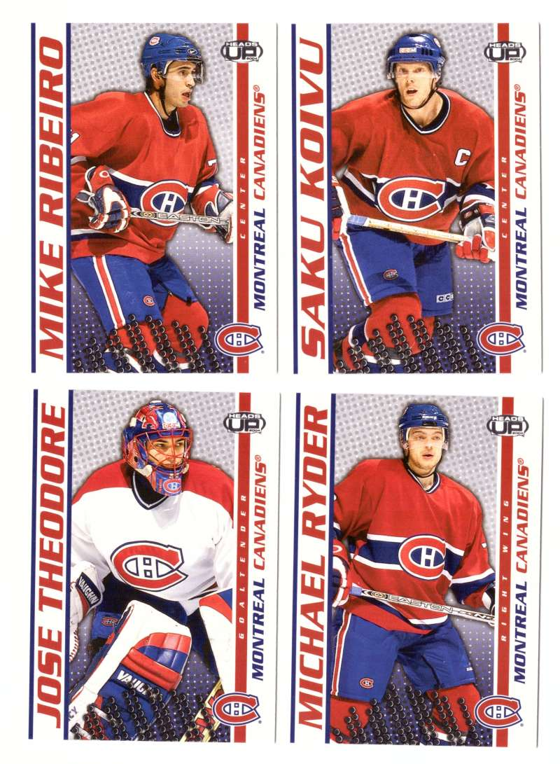 2003-04 Pacific Heads Up Hockey - Montreal Canadiens