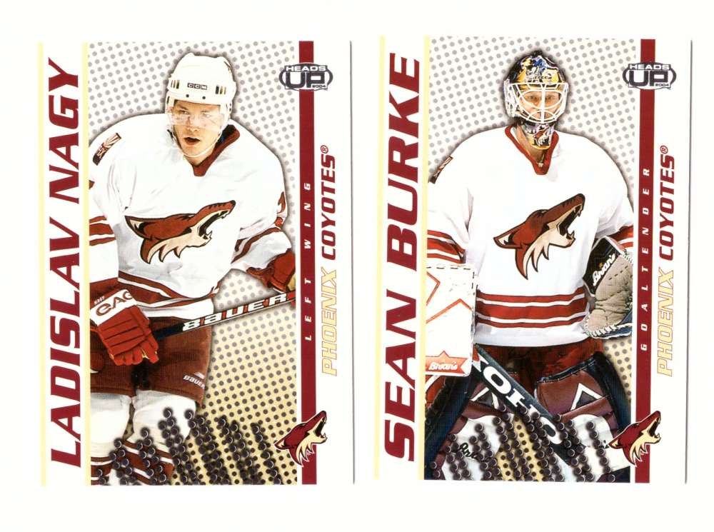 2003-04 Pacific Heads Up Hockey - Phoenix Coyotes