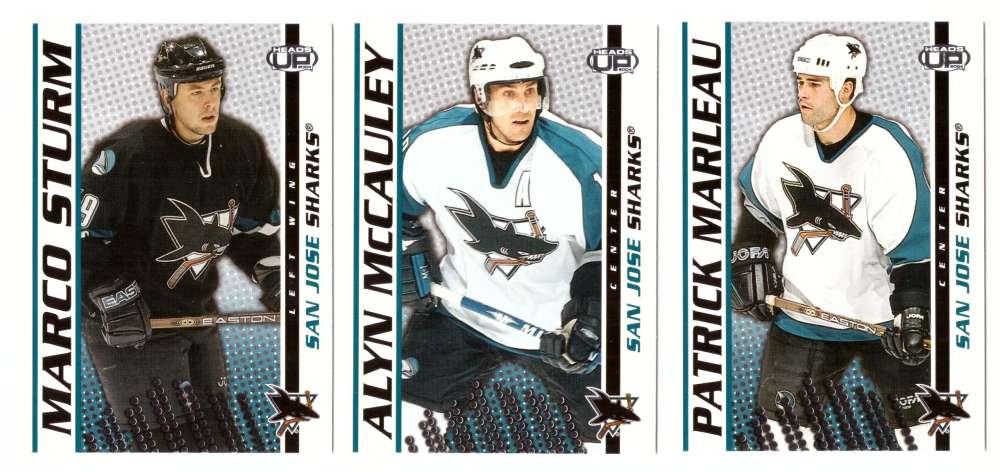 2003-04 Pacific Heads Up Hockey - San Jose Sharks