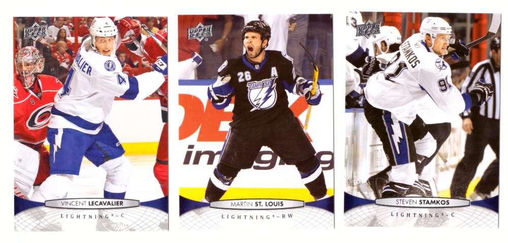2011-12 Upper Deck Hockey Team Set - Tampa Bay Lightning