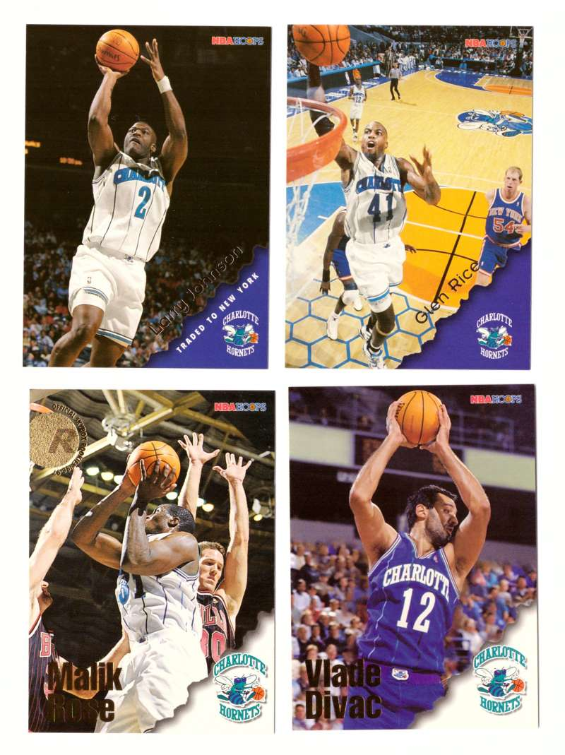 1996-97 Hoops Basketball Team Set - Charlotte Hornets