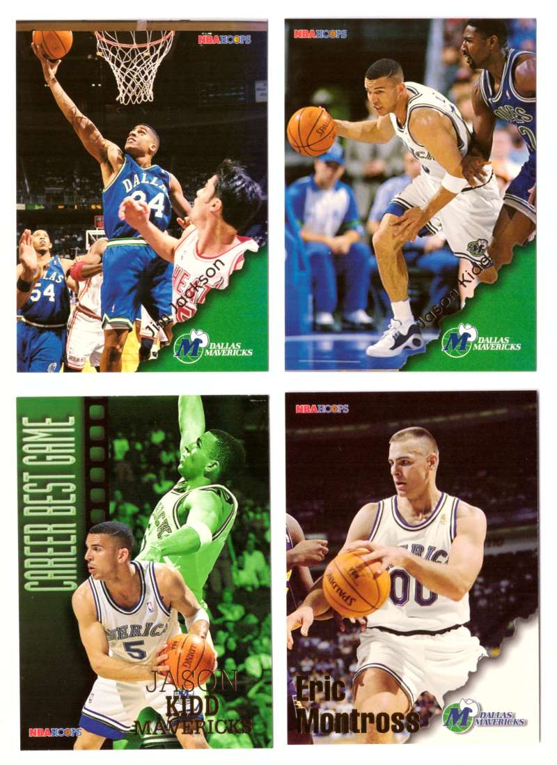 1996-97 Hoops Basketball Team Set - Dallas Mavericks