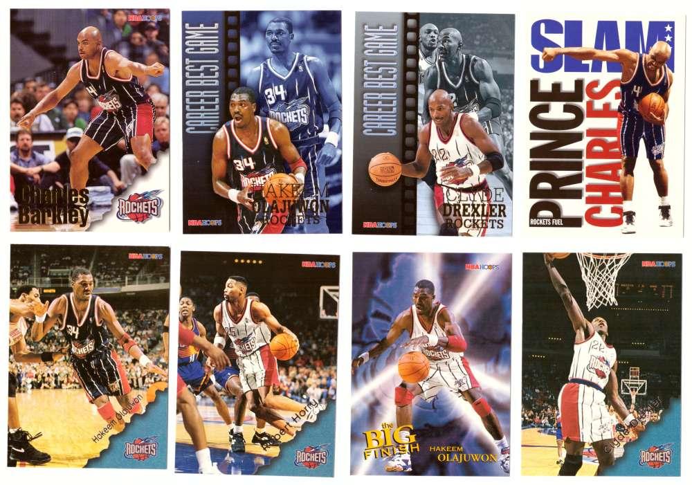 1996-97 Hoops Basketball Team Set - Houston Rockets