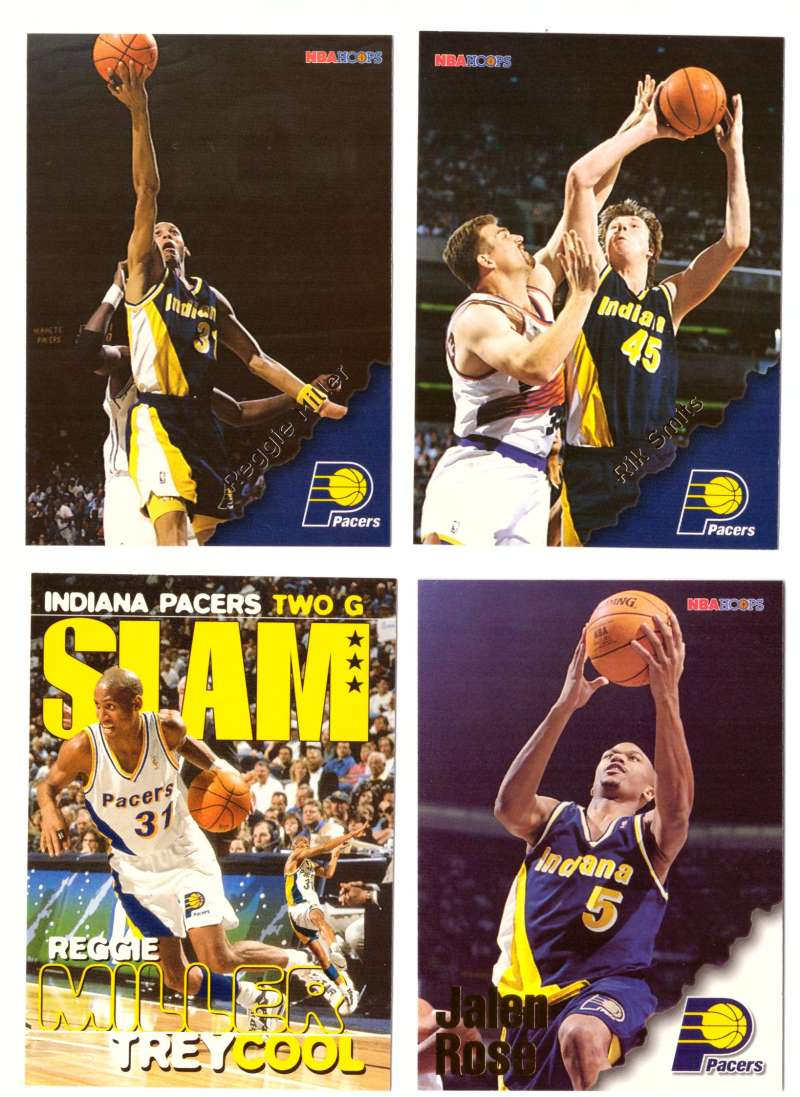 1996-97 Hoops Basketball Team Set - Indiana Pacers