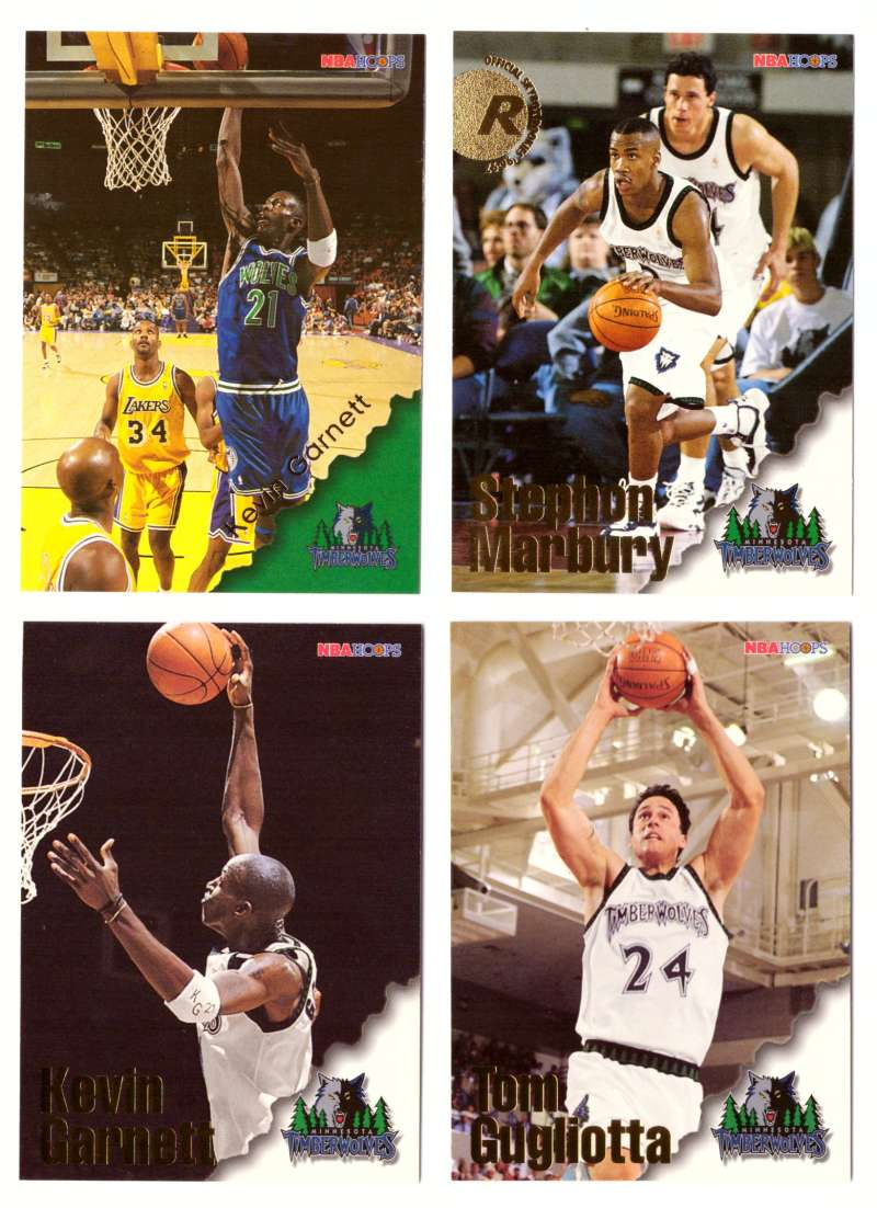 1996-97 Hoops Basketball Team Set - Minnesota Timberwolves
