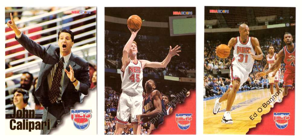 1996-97 Hoops Basketball Team Set - New Jersey Nets