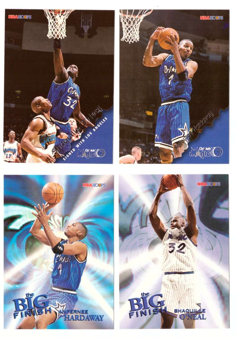 1996-97 Hoops Basketball Team Set - Orlando Magic