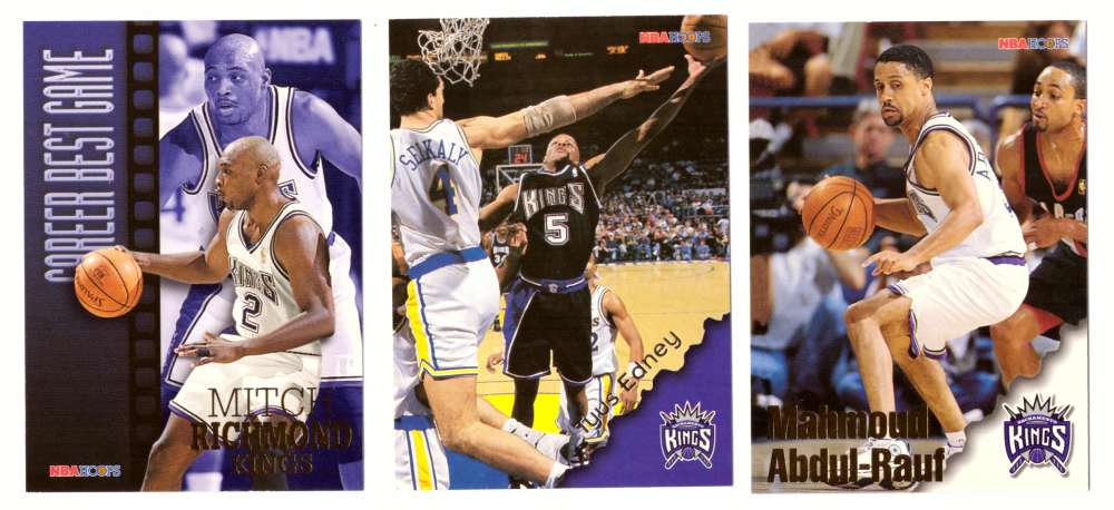 1996-97 Hoops Basketball Team Set - Sacramento Kings