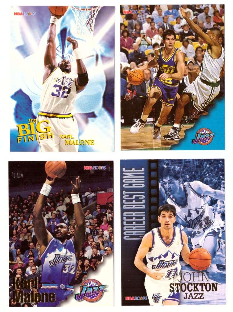 1996-97 Hoops Basketball Team Set - Utah Jazz