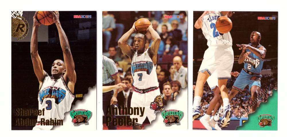 1996-97 Hoops Basketball Team Set - Vancouver Grizzlies