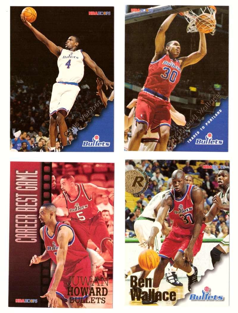 1996-97 Hoops Basketball Team Set - Washington Bullets