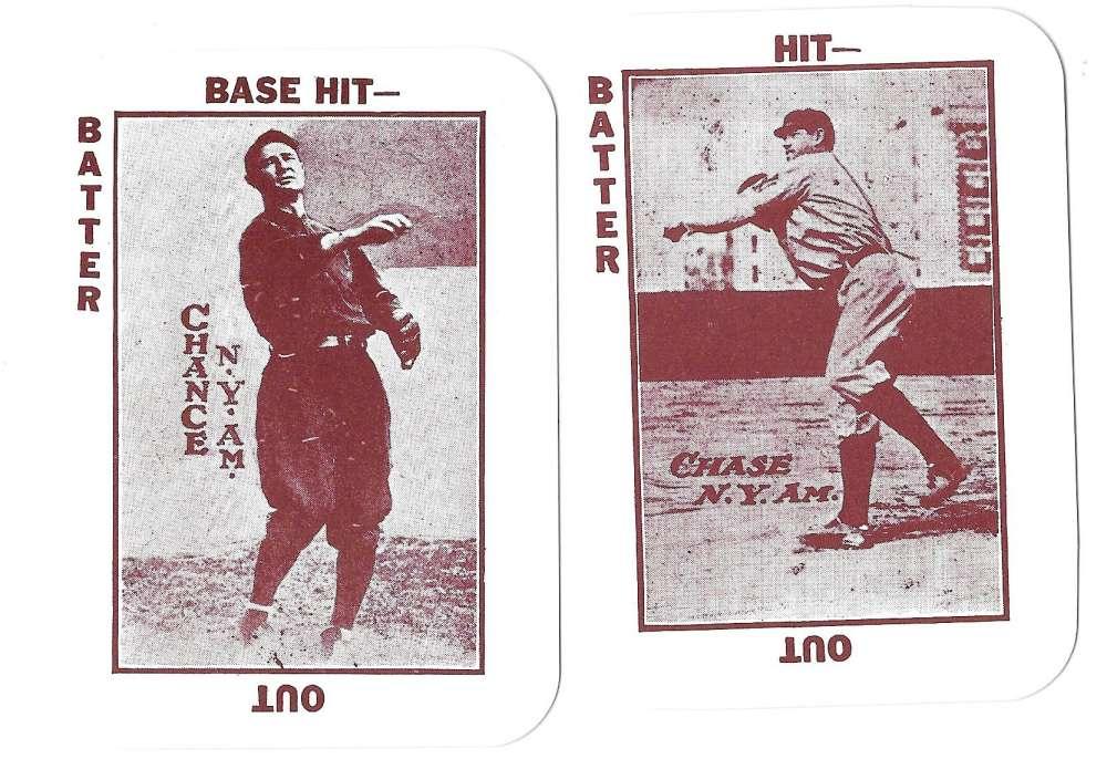 1913 National Game WG5 Reprints - NEW YORK YANKEES Team Set