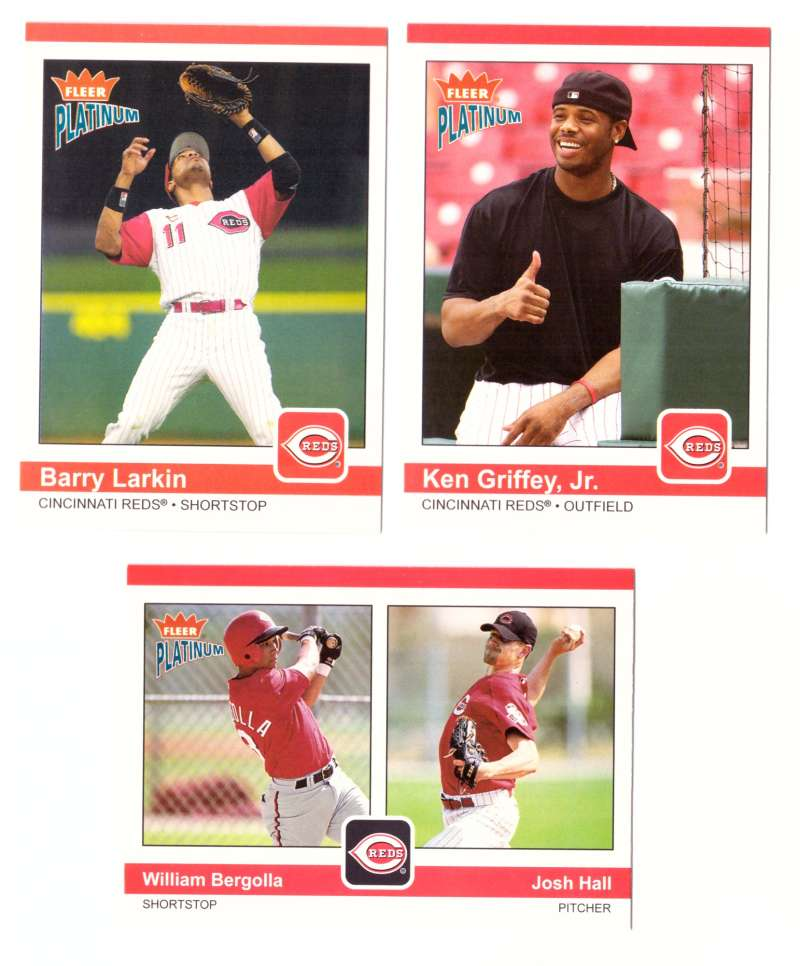2004 Fleer Platinum (1-200) - CINCINNATI REDS Team Set