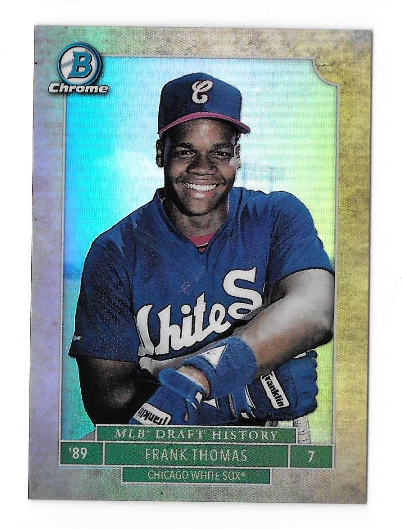 2016 Bowman Chrome Draft MLB Draft History - CHICAGO WHITE SOX