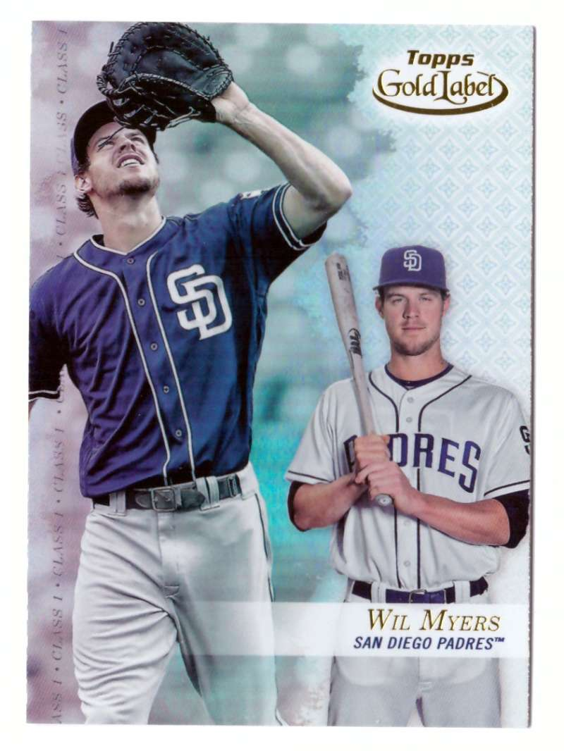 2017 Topps Gold Label Class 1 - SAN DIEGO PADRES