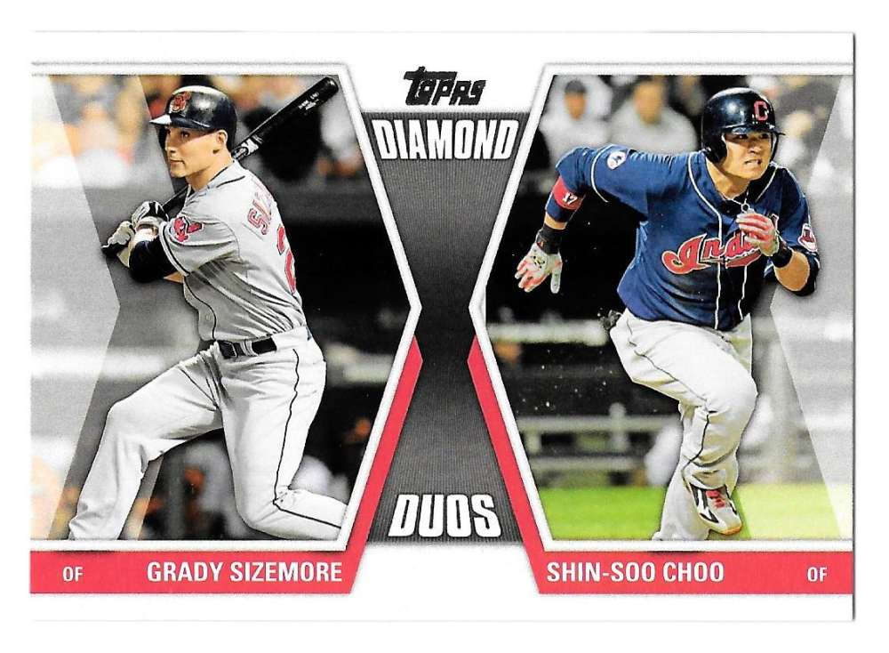 2011 Topps Diamond Duos - CLEVELAND INDIANS