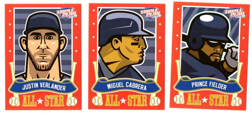 2013 Triple Play All-Stars - DETROIT TIGERS