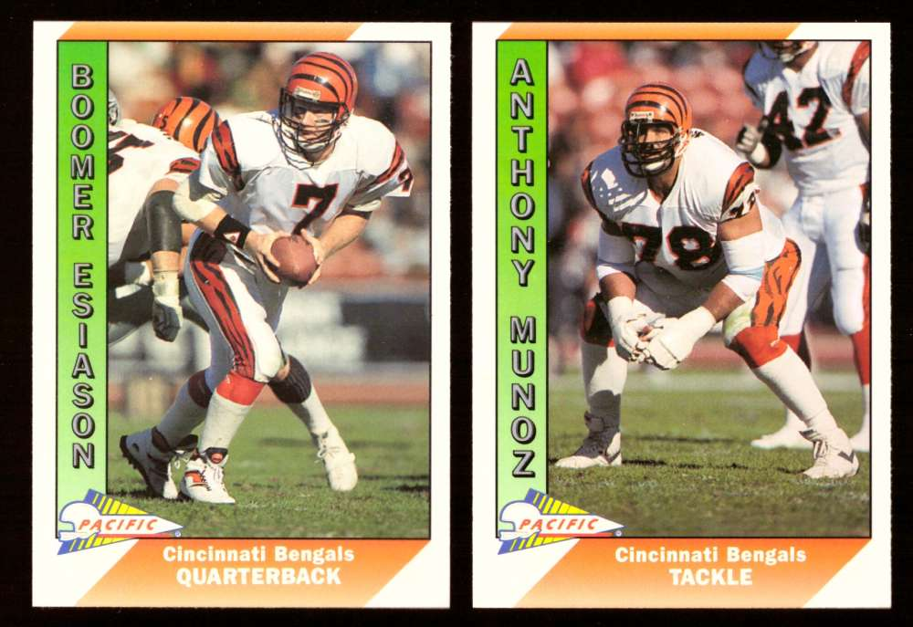 1991 Pacific (1-550) Football Team Set - CINCINNATI BENGALS