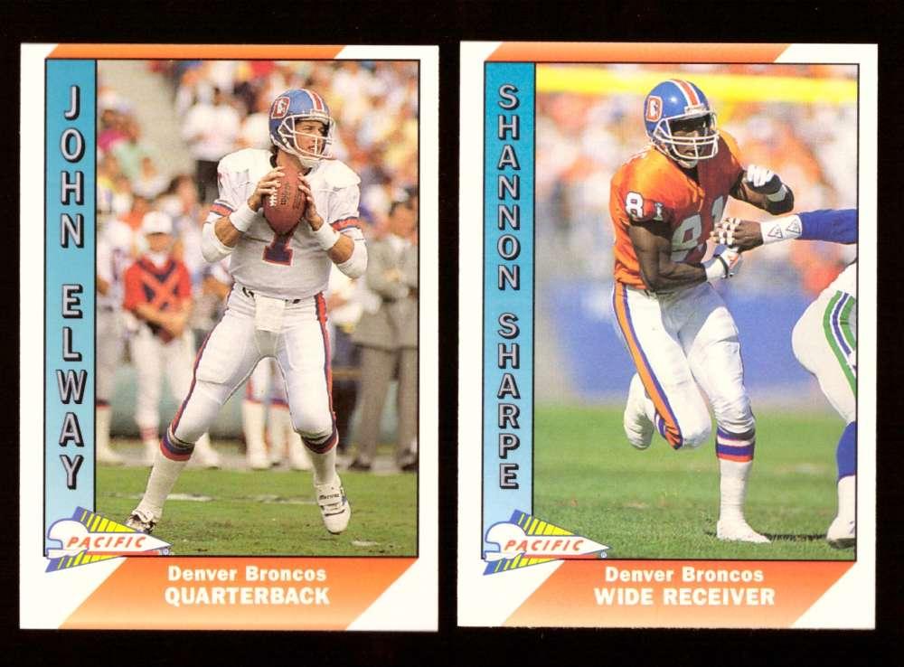 1991 Pacific (1-550) Football Team Set - DENVER BRONCOS