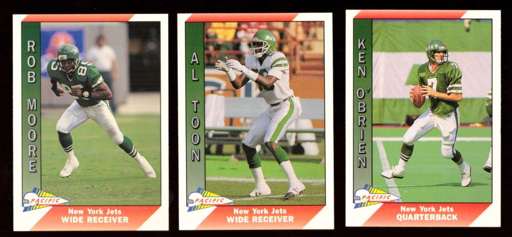 1991 Pacific (1-550) Football Team Set - NEW YORK JETS