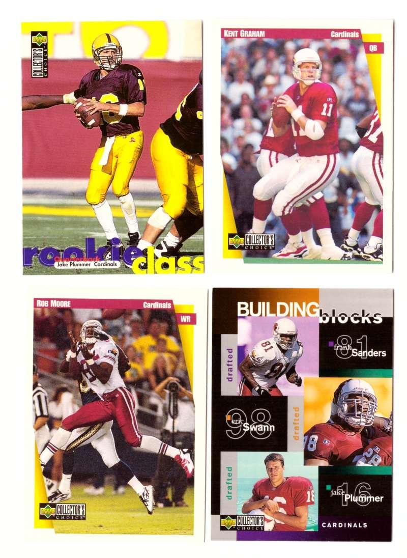 1997 Collector's Choice Football Team Set - ARIZONA CARDINALS