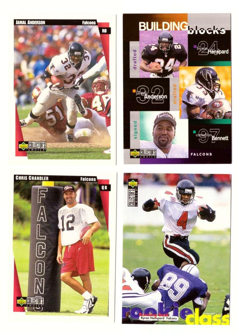 1997 Collector's Choice Football Team Set - ATLANTA FALCONS