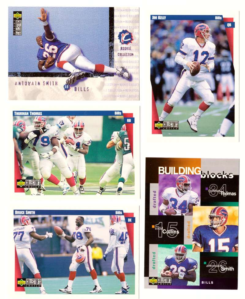 1997 Collector's Choice Football Team Set - BUFFALO BILLS