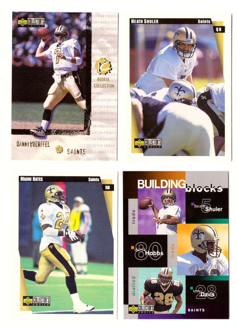 1997 Collector's Choice Football Team Set - NEW ORLEANS SAINTS