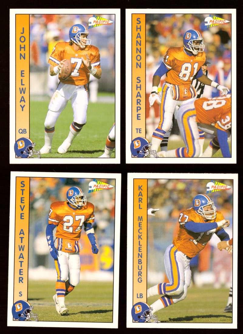 1992 Pacific Football Team Set - DENVER BRONCOS