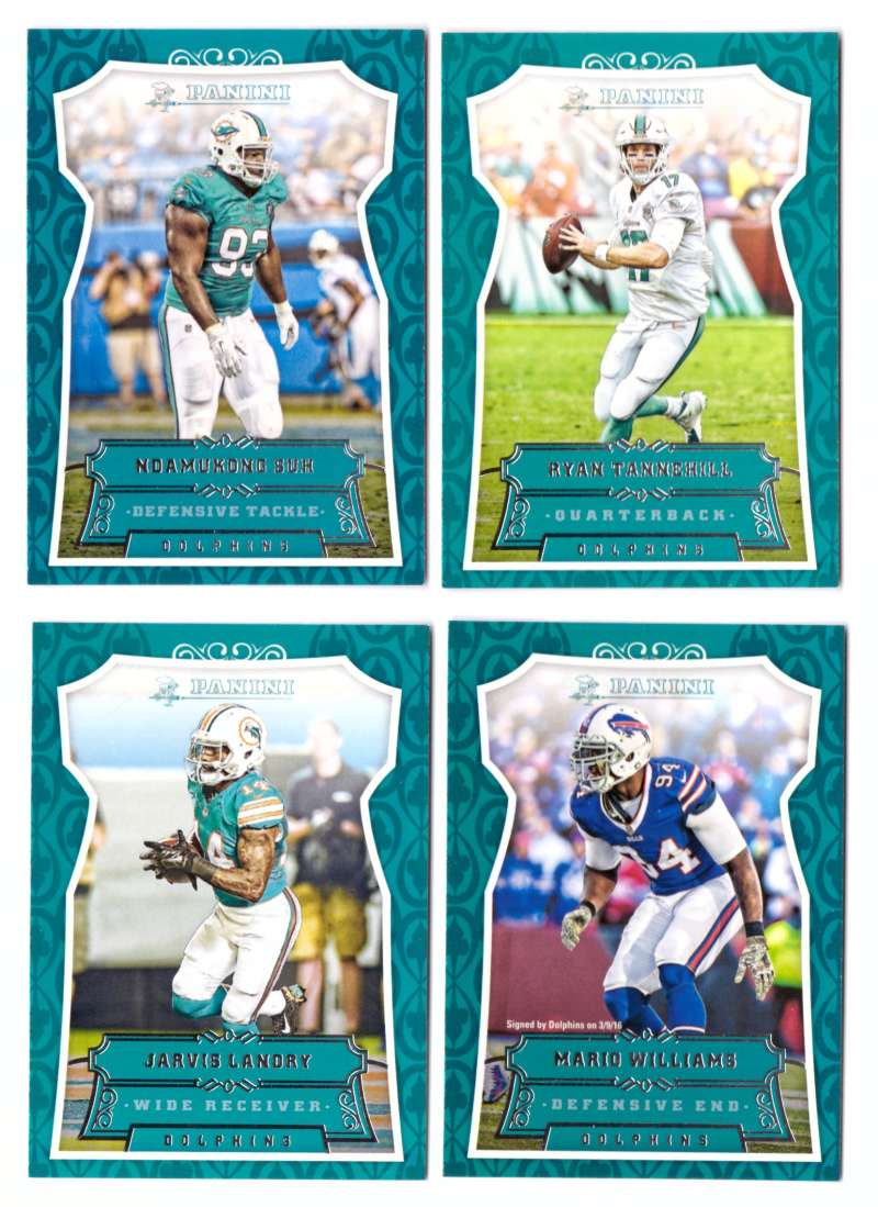 2016 Panini Football Team Set - MIAMI DOLPHINS