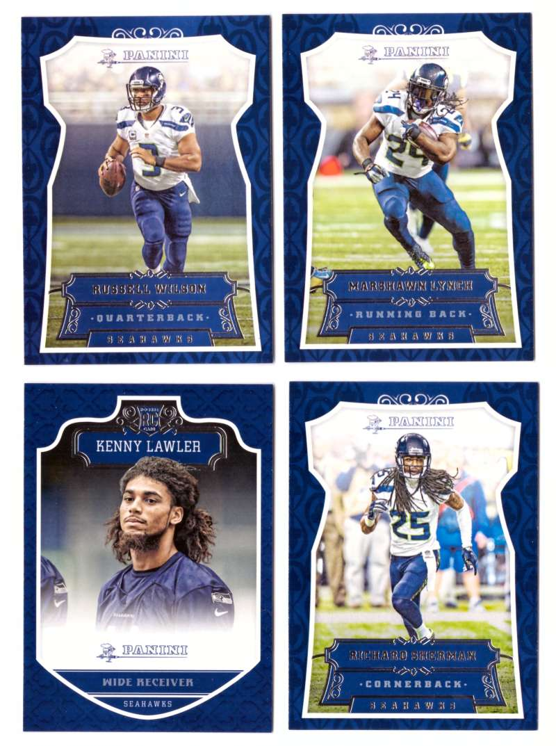 2016 Panini Football Team Set - SEATTLE SEAHAWKS