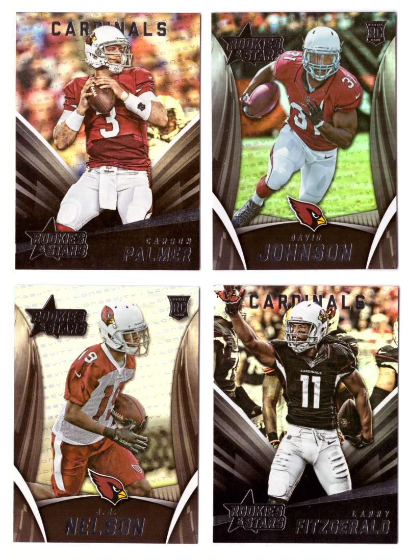 2015 Rookies and Stars Football Team Set - ARIZONA CARDINALS