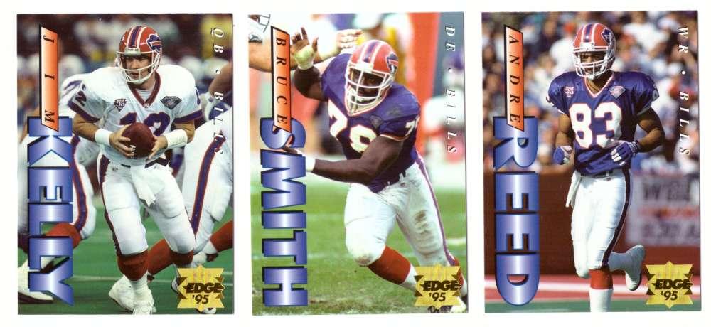 1995 Collector's Edge Football Team Set - BUFFALO BILLS