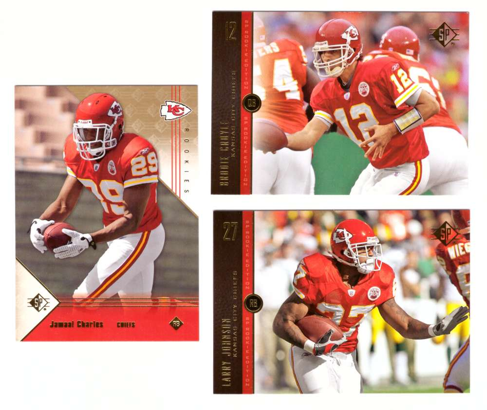 2008 SP Rookie Edition Football Team Set - KANSAS CITY CHIEFS