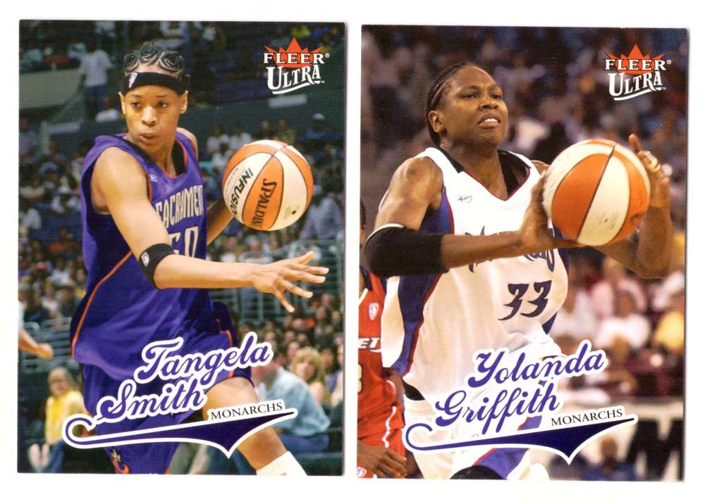 2004 Ultra WNBA (Base 1-90) Basketball Team Set - Sacramento Monarchs