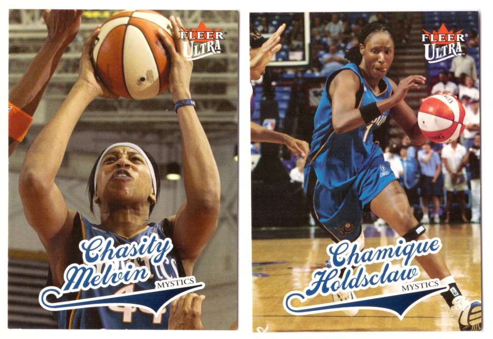 2004 Ultra WNBA (Base 1-90) Basketball Team Set - Washington Mystics