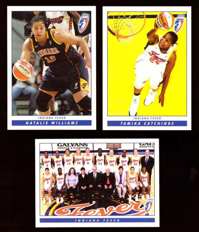 2005 WNBA Basketball Team Set - Indiana Fever w/o # 101