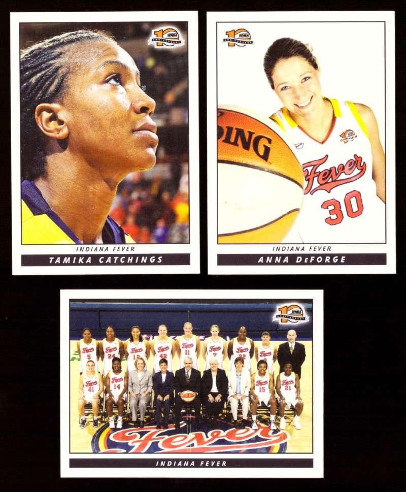 2006 WNBA Basketball Team Set - Indiana Fever