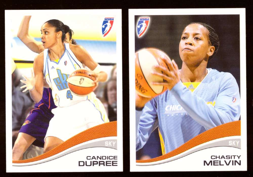 2007 WNBA Basketball Team Set - Chicago Sky