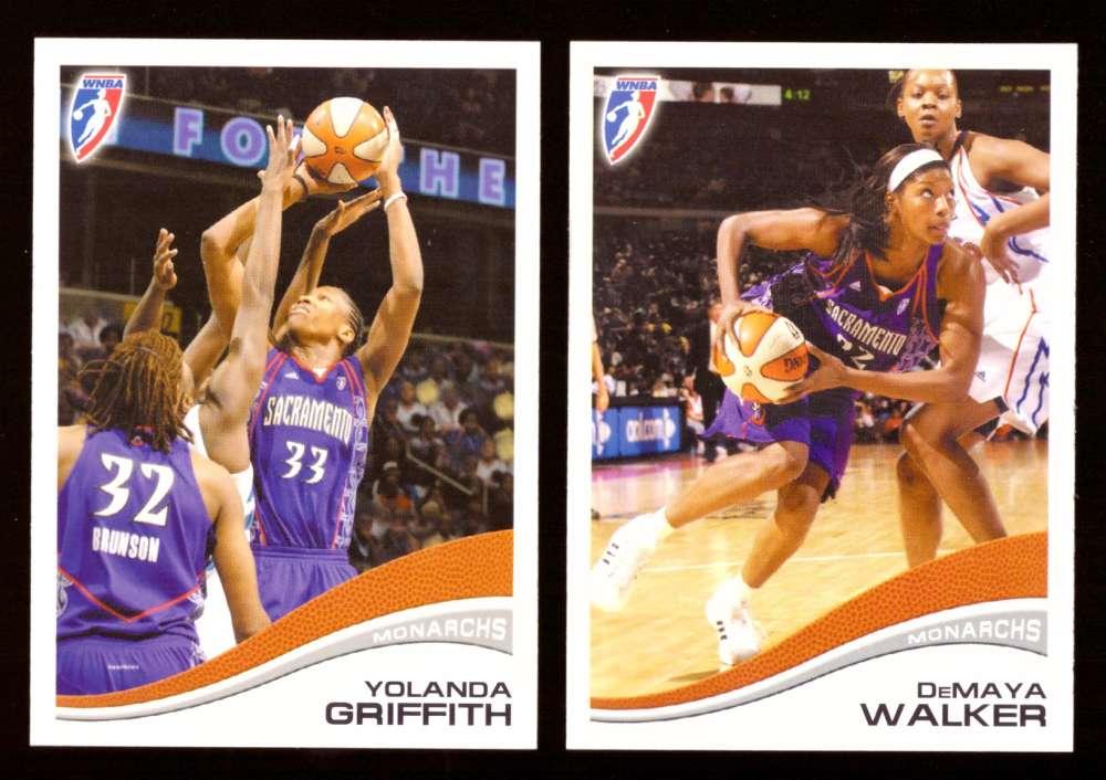 2007 WNBA Basketball Team Set - Sacramento Monarchs